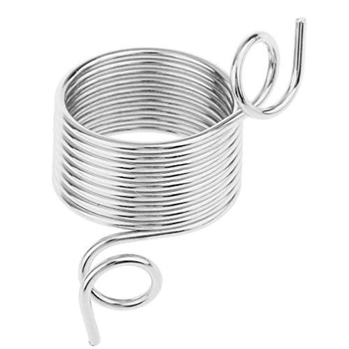 SUPVOX Dedo guía hilo metal acero inoxidable dedal