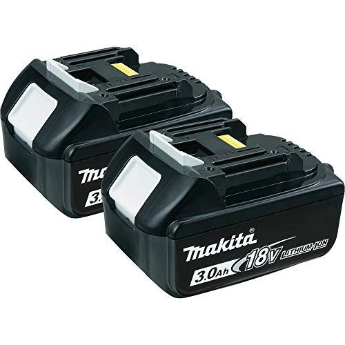 Makita MAKITA BL1830 18V 3,0Ah Lithium-ion Batterie (2 Stück) (638409-2) - Originalprodukt