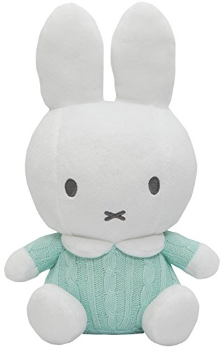 Miffy Plush - Green Mint Knitted - 14cm 5.5""