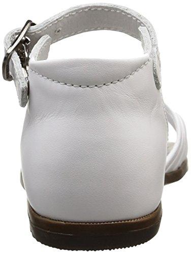 Little Mary Virginia, Bout Ouvert Bébé Fille Blanc (Perlado Blanc)
