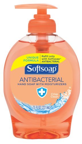 softsoap-126254-crisp-clean-antibacterial-liquid-hand-soap-75-oz-bottle-case-of-12-by-softsoap