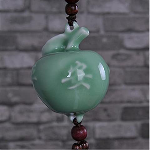 Sg-024 Ceramic Crafts Fashion Perfume Beads Celadon