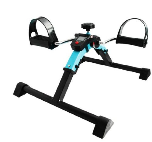 BLAUER Bewegungstrainer digital Pedaltrainer Beintrainer Armtrainer Arm Bein Trainer