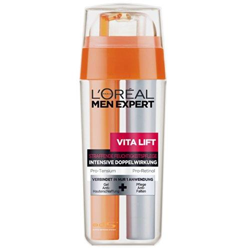 L'Oréal Men Expert Straffende Feuchtigkeitspflege intensive Doppelwirkung,1er Pack (1 x 30 ml)