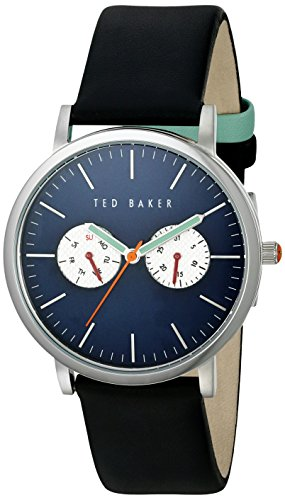 Ted Baker Men's 10024785 Sport Analog Display Japanese Quartz Black Watch