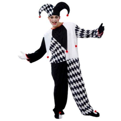 Boland 87162 - Kostüm Herlekin Jester, Einheitsgröße 48 - 54
