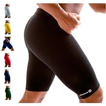 Rehband Funcional Para Hombre g-7785Athletic Pantalones térmicos, color negro, tamaño XS
