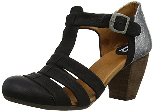 Fly London - ESSE, - Donna Multicolore (Mehrfarbig (Black/Silber 000))