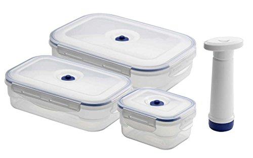 Compactor Set de 3 contenedores rectangulares Flavia
