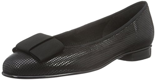 Gabor Shoes Basic, Ballerine Donna, Nero (Schwarz 47), 43 EU