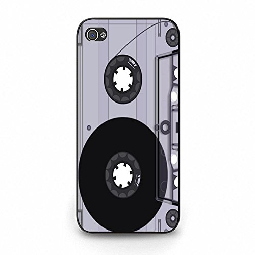 Iphone 5c Magnetic Tape Shell Cover,Personality Cusom Music Tapes Phone Case Cover for Iphone 5c Cassettes Cool Color160d