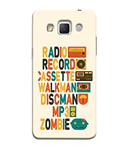 PrintVisa Designer Back Case Cover for Samsung Galaxy Grand Max G720 (Walkman Zombie)