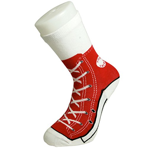 bluw-red-sneaker-trainer-style-socks-fun-gift