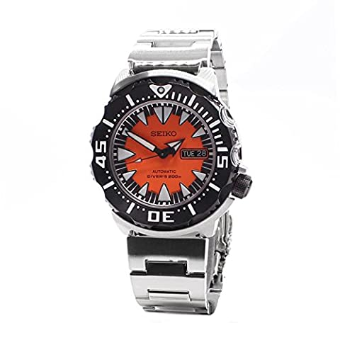 2nd Generation Monster Automatic Diver Stainless Steel Case and Bracelet