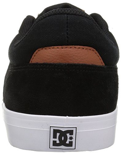 DC Shoes Wes Kremer, Espadrillas Basse Uomo Black/Brown/White