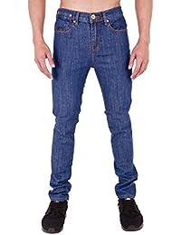 Homme Super Skinny stretch Punk Rétro Denim Jeans par Arrested Development -  bleu - 42 longue