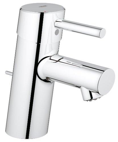 Grohe Concetto Einhand-Waschtischbatterie, Niederdruck für offene Warmwasserbereiter, 23060001