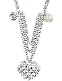 400dbaef17d0 Guess mujer Collar Metal Plata ubn71279