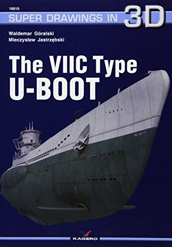 The Viic Type U-Boot (Super Drawings in 3D) por Mieczyslaw Jastrzebski