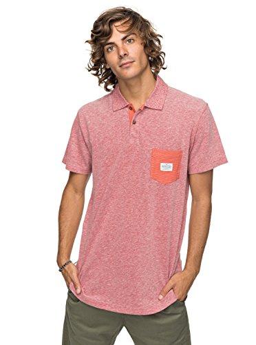 Quiksilver - Camisa Polo - Hombre - L - Rosa