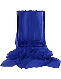 Dressystar Elégante écharpe/Châle/Foulard/Etole Pashmina Mousseline unicolore,emballé par une boîte parfait pour des cadeaux- beaucoup de Choix des couleurs