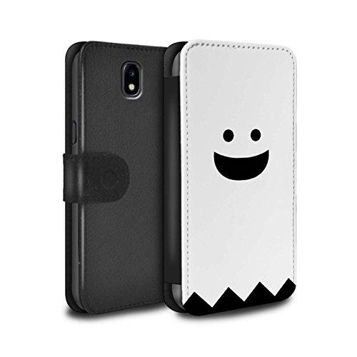 �lle/Case/Tasche/Cover für Samsung Galaxy J3 2017/J330 / Geist Muster/Halloween Zeichen Kollektion ()
