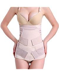 TININNA Postparto-Slimming Belt faja Adelgazante , 3 en 1 Ayudarle a Volver a La Curva del Cuerpo Prenatal, Pone En El Armario Delgada De Nuevo Gran Apoyo Para La Espalda Facil De Usar y Ajustar Tamano(XL)