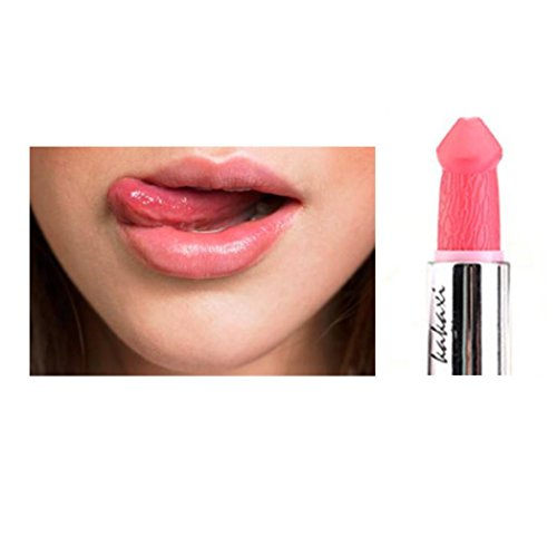 Huihong KAKAXI Lippenstift Lipgloss Penis Langlebig Feuchtigkeitsspendende Wasserdichte Non-Stick...