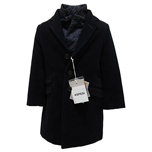 9177L cappotto imbottito blu scuro ASPESI giacche jackets coats kids [4 YEARS]