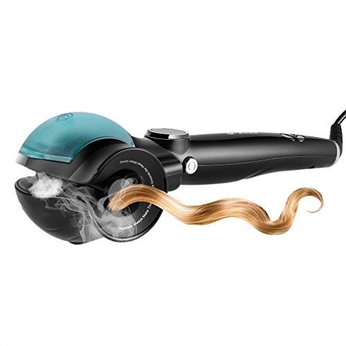 U-Kiss Dampf Anion Haar Ionen Lockenstab Keramik Curler Lockendreher mit LED Anzeige Wave Roller 360...