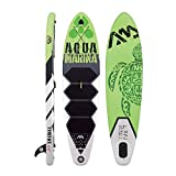 Aqua Marina BT-17TH Isup Sup Stand Up Paddle Board, Grün Schwarz, M