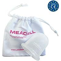 Copas Masaje Cuerpo Ventosa Silicona Anti Celulitis Eliminar Estrias Muslos Gluteos Abdomen Brazos Hombre y Mujer Masajeador Anticelulítico MEACELL