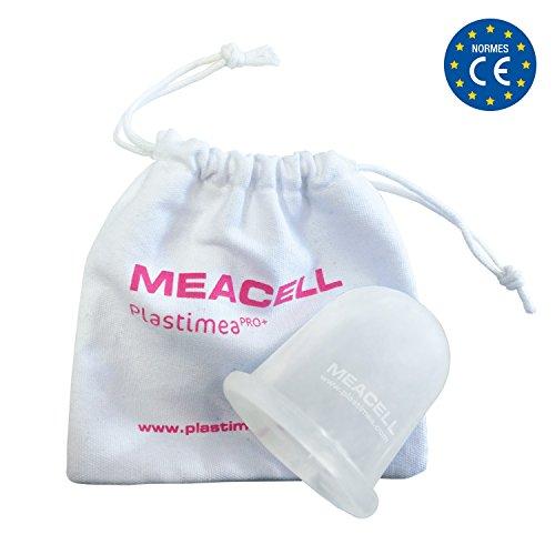 Meacell® coppetta : massaggiatore cellulite per rimedi su gambe, braccia, glutei e pancia • massaggio anticellulite cup in silicone medicale 100% ipo-allergenico • tecnica cupping vacuum (cavitazione medica)