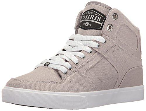 Osiris NYC83 VLC Leinwand Skateschuh Grau