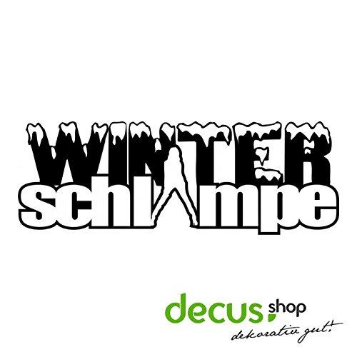 WINTERSCHLAMPE L 2561 // Sticker OEM JDM Style Aufkleber (Carbon Schwarz)