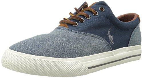 Polo Ralph Lauren Vaughn Gambe di moda Sneaker Navy