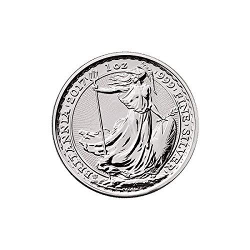 Royal Mint 2017 Silbermünze Jubiläum Britannia - Limited Edition -