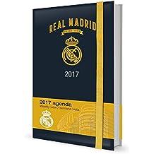 Grupo Erik Editores Real Madrid - Agenda 2017 Premium Semana Vista, 15.5 x 19 cm