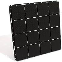 Prosperplast Bodenplatte, schwarz, 40 x 40 x 2 cm, IES40-S411