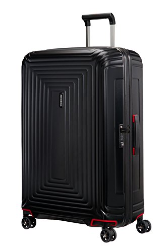 Samsonite Suitcase, 69 cm, 74 Liters, Matte Black