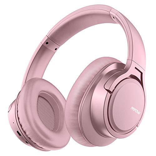 Mpow H7 Cuffie Bluetooth, Cuffie Over-Ear con Autonomia 18 Ore, Cuffie Chiuse Wireless 4.1...