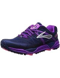 Brooks Cascadia 10 W, Chaussures de Running Compétition Femme, Red