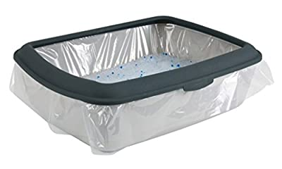 Cat Litter Tray Bag Size L for Toilets up to 46x59 cm, Pack of 10 from Trixie