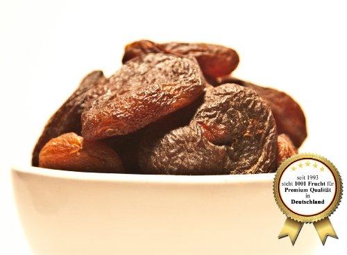 Weiche getrocknete Aprikosen ungeschwefelt 1kg | OHNE ZUSÄTZE | ROHKOSTQUALITÄT | Trockenfrüchte getrocknet