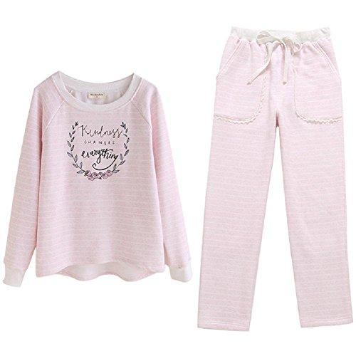 DMMSS Donne Carino maniche lunghe Sleepwear 2