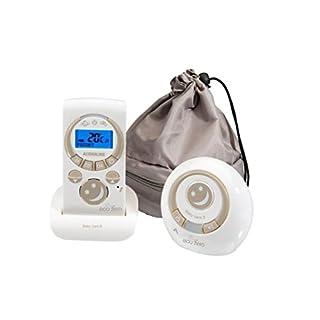 Audioline  BabyCare 8 Eco Zero, Babyphone mit Temperaturüberwachung und Gegensprechfunktion