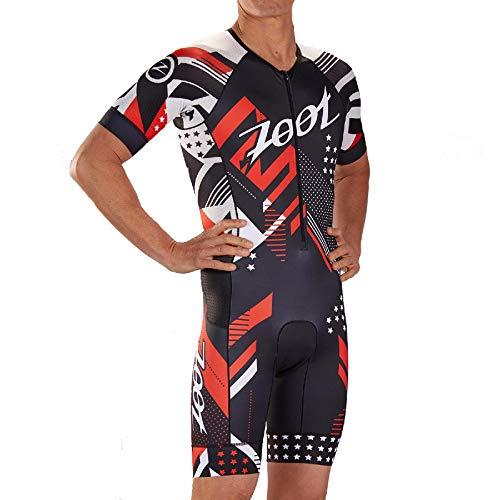 Zoot Herren Triathlon Rennanzug M LTD Tri Aero SS Race Suit - Team 19 XXL