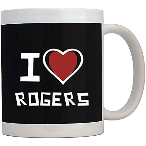 Teeburon I love Rogers Tazza