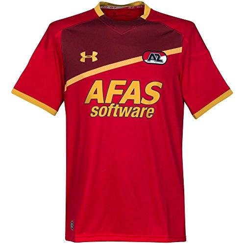 AZ Alkmaar Home Shirt 20172018 Red