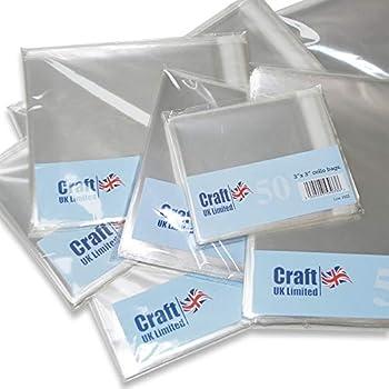 500 bolsas de celof/án transparente autoadhesivas de pl/ástico para FBA por Sabco 9 x 12 Sabco bolsas de presentaci/ón transparentes
